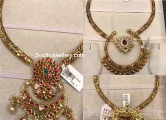 light weight kanthi necklace designs