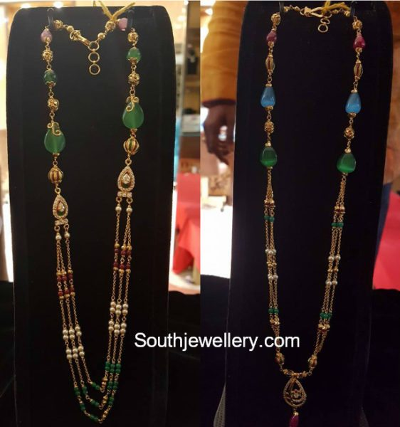 Light Weight Fancy Beads Chains