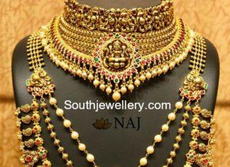 nakshi necklace and haram
