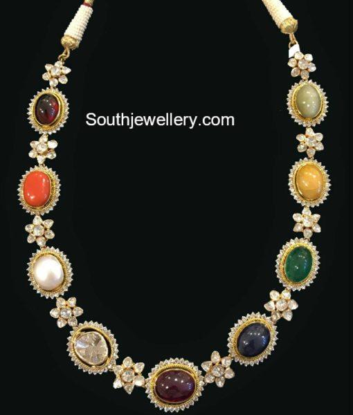 navaratna necklace
