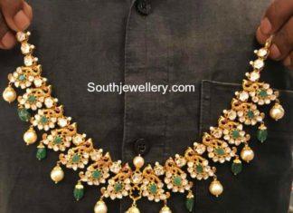 stones necklace models