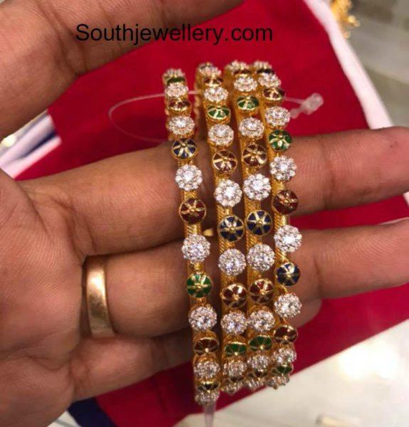 22 carat gold bangle models