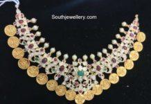polki necklace with kasu motifs