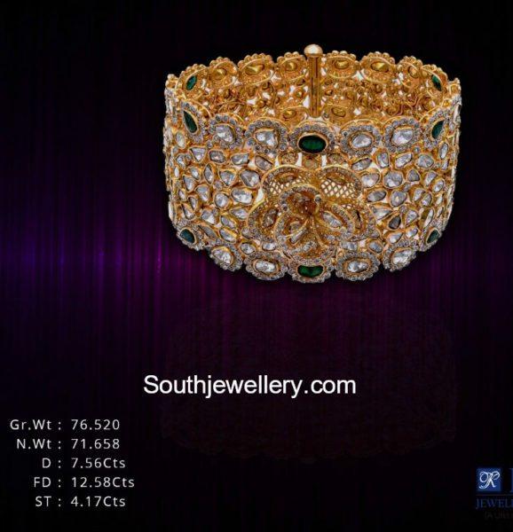 polki diamond bracelet