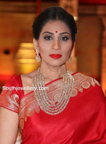 Shreedevi in Polki Necklace Set
