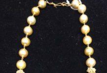 south sea pearl and beads mala