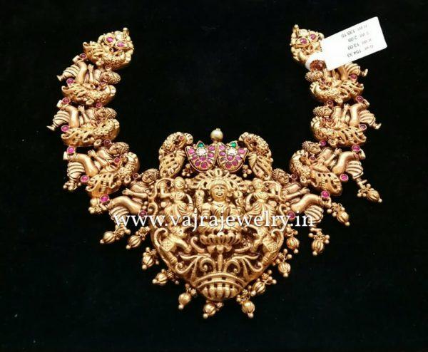 Temple Nakshi Necklace