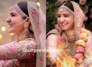 anushka sharma wedding jewellery