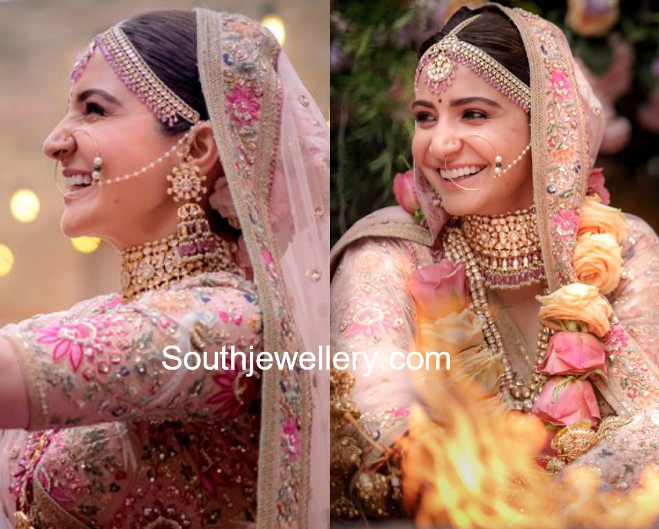 Anushka Sharma S Wedding Jewellery Jewellery Designs