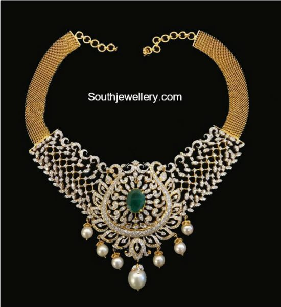 diamond necklace srj fine jewelry