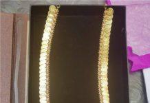plain gold kasu mala