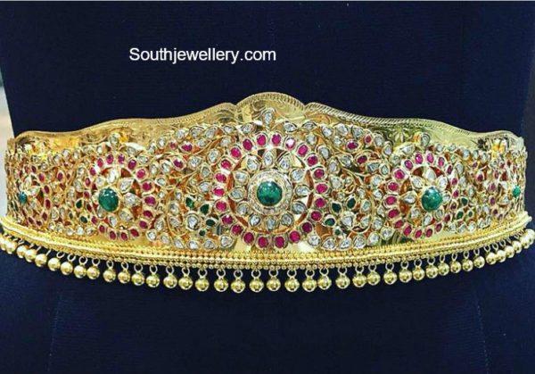 uncut diamond waist belt