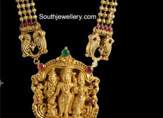 temple jewellery designs 2018