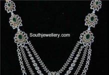 layered peacock diamond haram