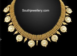 antique polki necklace