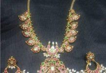 pota ruby mango necklace