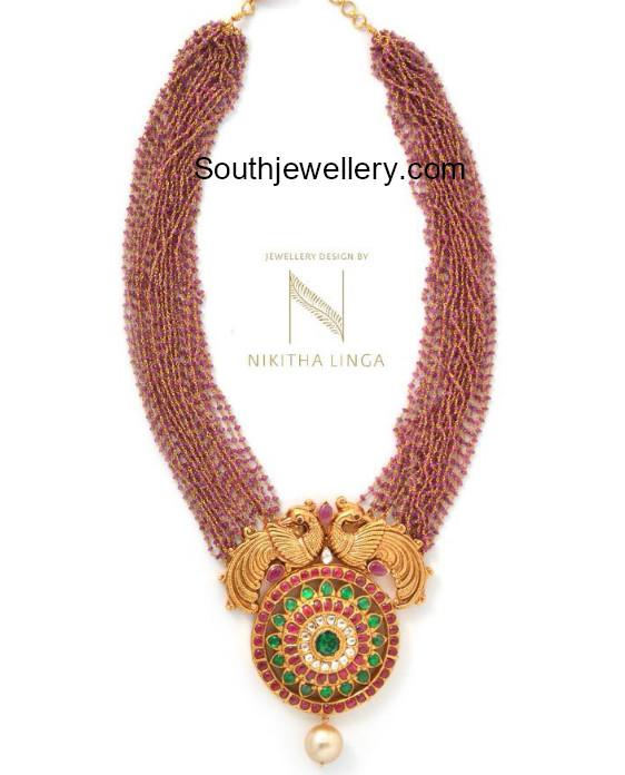 ruby beads haram