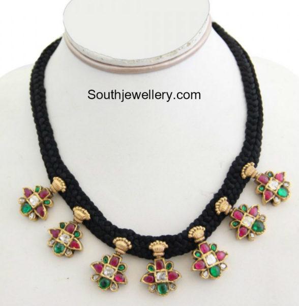 black dori necklace
