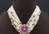multistrand pearls mala
