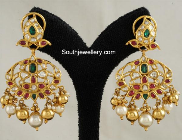 gold earring designs