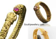 gold kada designs 2018