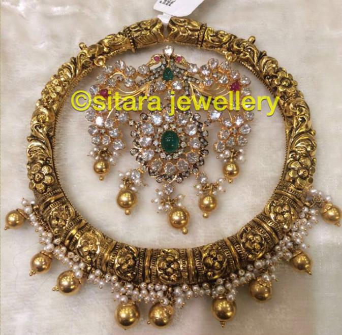 bangle style pendant