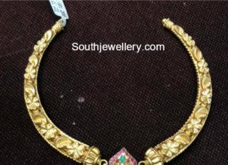 kanthi choker with ganesh pendant