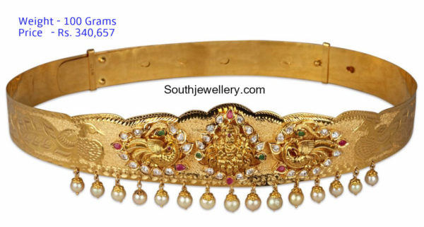 20 Beautiful Vaddanam Designs With Weight and Price