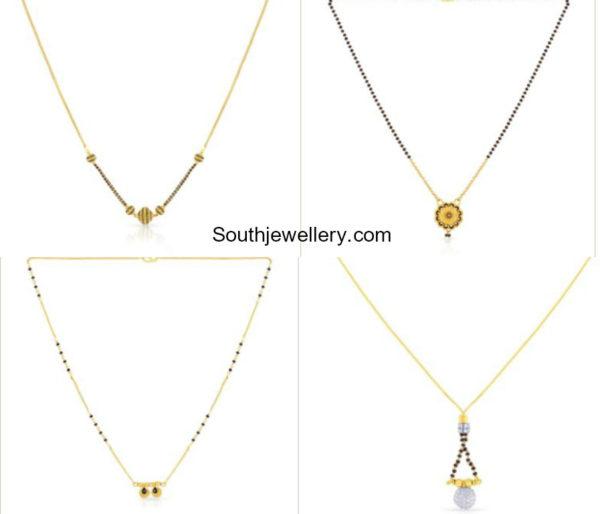 Light Weight Nalalpusalu Chain Models by Malabar Gold and Diamonds