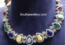 navratna stones necklace