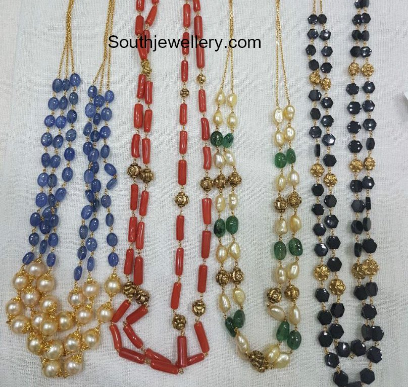 gallery designs sets l jewellery necklace beads design simple