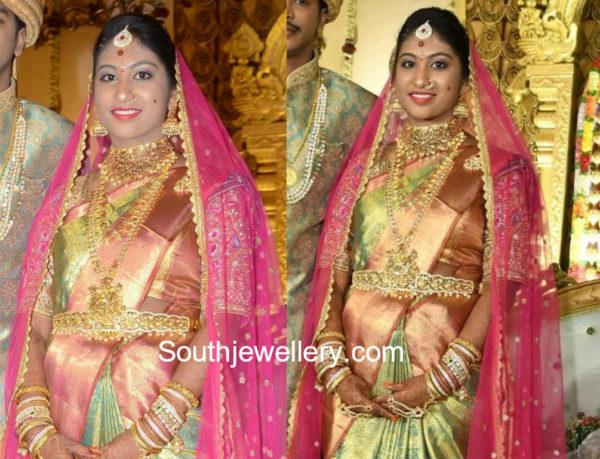 c kalyan son wedding bride jewellery