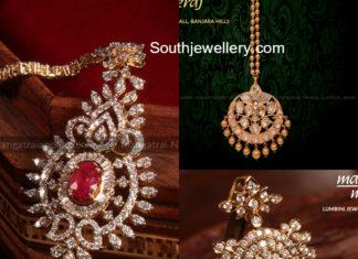 diamond maang tikka designs