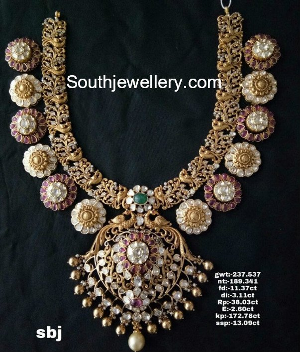 floral pacchi necklace