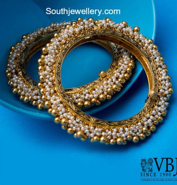 pearl bangle designs
