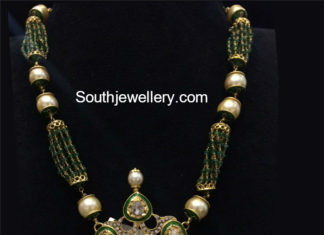 pusalu necklace designs in gold