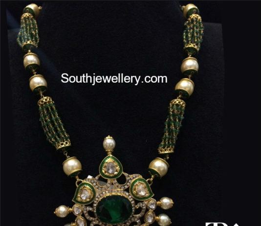 pusalu necklace designs in gold