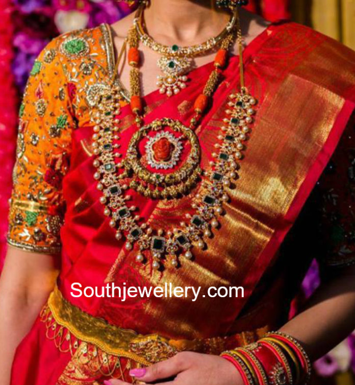 south indian bride jewellery