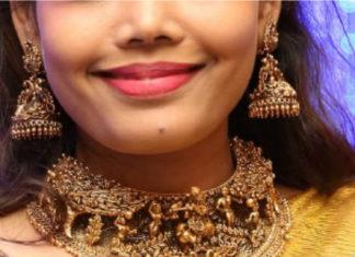 temple jewellery necklace designs