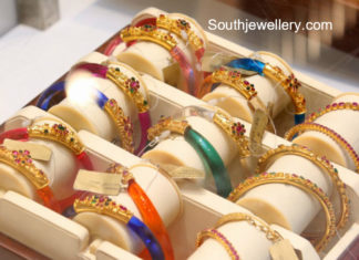 latest gold bangle models 2018