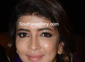 lakshmi manchu diamond necklace