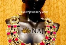 ruby nakshi necklace