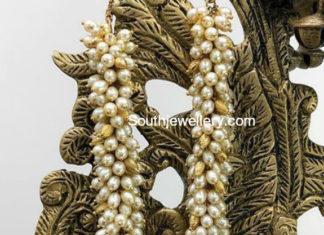 flower bud pearl mala