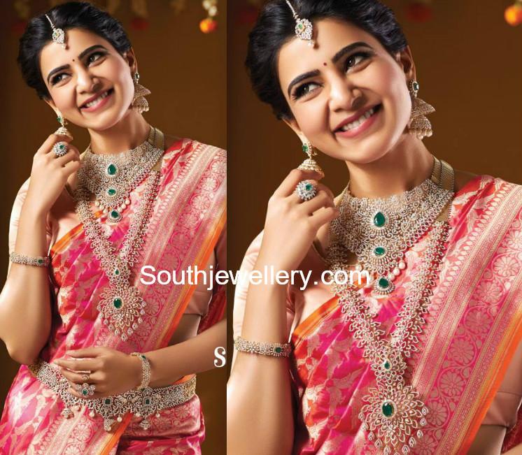 samantha akkineni in nac diamond jewellery jewellery designs