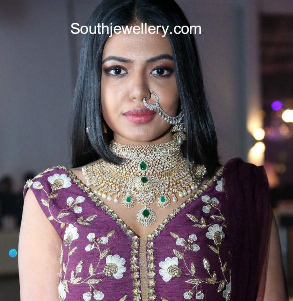 shivani rajasekhar diamond jewellery fashion show