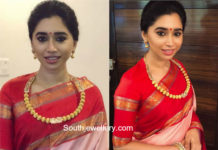 aarti ravi gold necklace