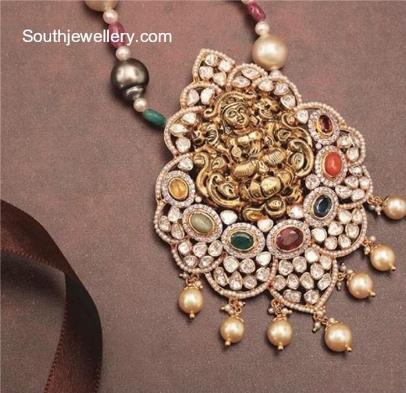 goddess lakshmi pendant
