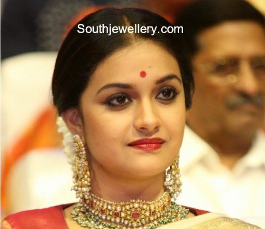 keerthy suresh kundan choker and chandbalis mahanati audio launch
