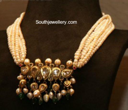 South Sea Pearls latest jewelry designs Jewellery Designs