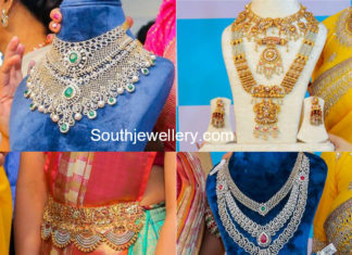 vasundhara diamond roof jewellery designs